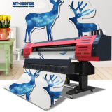 실내와 실외 모두 인쇄, 1440dpi에 대한 DX7 프린트 헤드와 에코 솔벤트 프린터