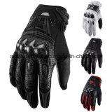 Волокно углерода высокого качества резвится перчатки для всадника мотоцикла (MAG13)