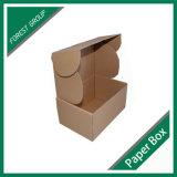 De duidelijke Enige Ommuurde Verpakkende Doos van Kraftpapier (vriespunt 8039108)