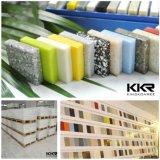 Superficie sólida de piedra artificial al por mayor del material de construcción