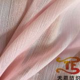 Ткань 100% Crepe полиэфира ткани платья женщин одежды лета шифоновая