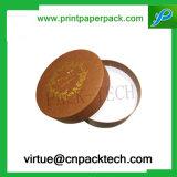 아름다운 디자인 둥근 장갑 포장 선물 종이상자