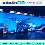 Afficheur LED polychrome extérieur de grand panneau de la publicité P25 DIP546 commerciale