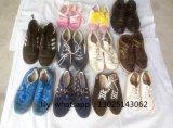 Sapatas usadas grandes dos esportes, sapatas de segunda mão grandes, sapatas usadas chinesas