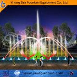 تكنولوجيا الوسائط المتعدّدة لون موسيقى مختلفة ماء نوع [3د] فوّهة في بركة نافورة
