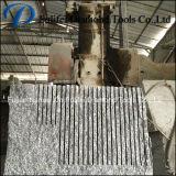 Mármol granito piedra de basalto bloque único multi circular de la hoja de corte de la máquina de hoja de sierra