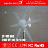 Gerador conduzido do vento do sistema 90W-300W das energias eólicas