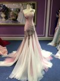 Un campione reale del vestito da sera della sirena 2017 della spalla