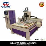 Corte suave del contorno de la máquina del CNC Cuttting del material (VCT-CCD1325ATC8)