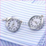Botão de punho reais 328 do movimento das ligações de punho do relógio da engrenagem nova de Steampunk dos homens do desenhador
