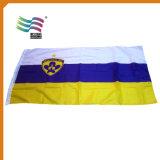 I piedi del poliestere 3X5 di promozione hanno ricamato la bandiera nazionale del paese