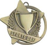 공급은 고대 금 3D 아연 합금 OEM 고품질 스포츠 메달을 주문을 받아서 만든다