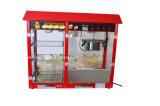 Máquina eléctrica comercial de las palomitas del fabricante de las palomitas con el soporte de visualización