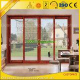 Customized Aluminium Aluminium Coulissante Profil de porte pour la vie intérieure / extérieure