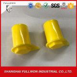 Материал желтого цвета PE высокого качества Swl21 при Dia 21mm проверяя свободный высокий индикатор Swl21 гайки колеса Пыл-Крышки