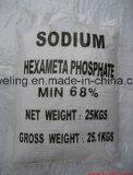 Ранг 68% (SHMP) гексаметафосфата натрия технически с качеством ISO