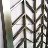 Comitato decorativo intagliato perforato di alluminio del metallo per lo schermo