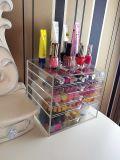 Vielseitig begabter kosmetischer acrylsauerschaukarton mit 5 Fächern
