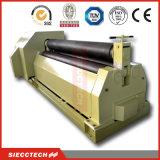 Máquina de rolamento mecânica e hidráulica do rolamento Machine/W11 6X2500 da placa de metal
