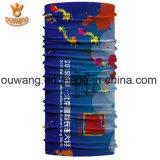 Bandana magique de tube de collet de polyester fait sur commande en gros de Microfiber