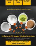 Tazza di caffè astuta della visualizzazione di temperatura delle 9 once