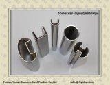 Tubulação do sulco do aço inoxidável de ASTM A554 304 para o aperto de vidro
