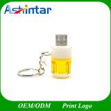 mini mecanismo impulsor del flash del USB de la taza de la cerveza de Pendrive del disco del USB 128g