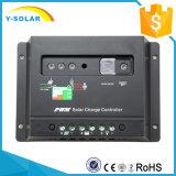 regulador solar del descargador del cargador de 30A 12V/24V con el estatus 30I de la carga de batería del indicador del LED