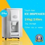 Distributeurs de glace et de glace d'eau avec le modèle d'acier inoxydable