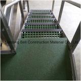 Проступи лестницы FRP/GRP Anti-Slip, лестница стеклоткани Anti-Slip, решетки стеклянного волокна