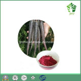 Antociano naturale puro di 25%, estratto nero del ravanello degli antociani di 25%