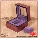 Исключительный изготовленный на заказ уникально отлакированный вахта упаковывая деревянную коробку