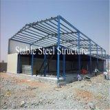 Atelier préfabriqué d'acier de construction