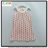 I puntini hanno stampato vestito dalla neonata di disegno dei vestiti del bambino il nuovo