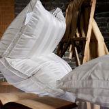 Гусына подушки Hilton Hotel белая вниз Pillow внутренняя с крышкой нашивки хлопка