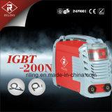 Soudeuse de l'inverseur MMA avec le boîtier plastique (IGBT-160N/200N)