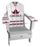 Cadeira de madeira de Muskoka com logotipo da cerveja (CPHP-7001X)