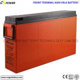 batteria al piombo del ciclo profondo terminale anteriore 12V100ah per uso delle Telecomunicazioni