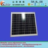 Módulo solar Poly PV de 35W 40W para sistema 12V