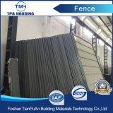 Stahlblech-Zaun für Baustelle