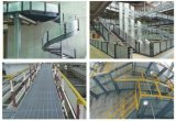 Rooster Decking van het Metaal van de Bevloering van de Loopbrug van de fabriek de Hete Ondergedompelde Gegalvaniseerde