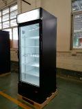 Refrigerador eletrônico do anúncio publicitário do termostato do estilo do tipo e da Único-Temperatura do refrigerador do indicador