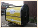 Carro del alimento de China Mobile del quiosco del alimento de la calle de la parada del alimento de la alta calidad Ys-Bf230-2