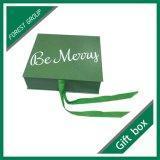 Caja de regalo con la cinta magnética en color de encargo de lujo
