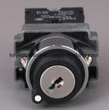 Schloss-Metalltyp Drucktastenschalter mit Schlüssel