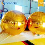 結婚式のクリスマスのディスコのイベントの装飾耐久の大きく膨脹可能なミラーの球