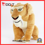 Tiger Lion Dog Cat Monkey Cow Soft Peluche Jouet Farcies