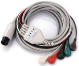Schiller 10 cables del terminal de componente ECG EKG