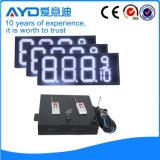 Hidly 12 인치 백색 아시아 LED 주유소 표시