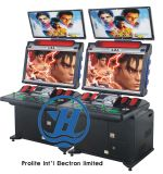 Máquina de juego video de la cabina de la arcada de la lucha de Box4 de Breca para el sitio de juego (ZJ-AR-ST04)